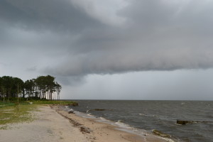 Rolling Clouds over the Currituck Sound